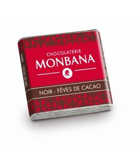 Napolitain noir fèves de cacao 70 %